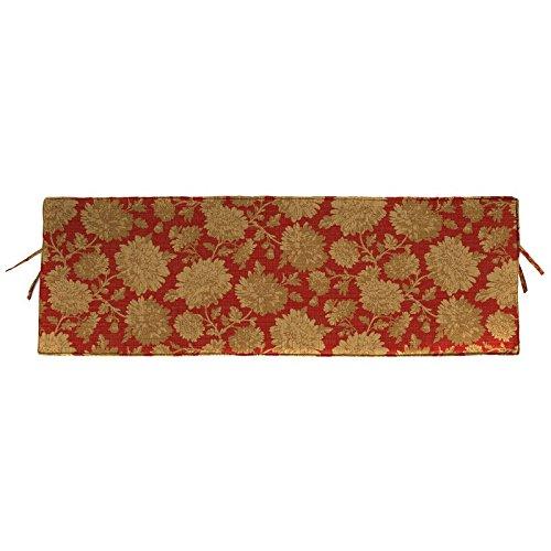 Jordan Manufacturing Sunbrella Rectangular Bench Cushion - 48 x 18 in.