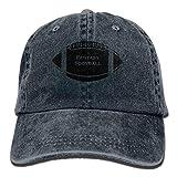 Hoswee Unisex Kappe/Baseballkappe, Baseball Cap Fantasy Football Denim Hat Adjustable Cotton Sport Strap Cap