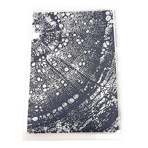 PINH - Sello de Silicona Transparente, microscopios, para Scrapbooking, álbum de Fotos, Tarjetas, Manualidades, Navidad, Regalo de Acción de Gracias, Regalo
