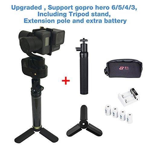 Zhiyun Rider-M 3-Axis Gimbal Nuovo Aggiornato Telecomando Portabile Handheld Stabilizzatore Supporto APP Wireless per GoPro Hero 5/4/3 per Xiaomi Yi SJCAM Serie Sport azione