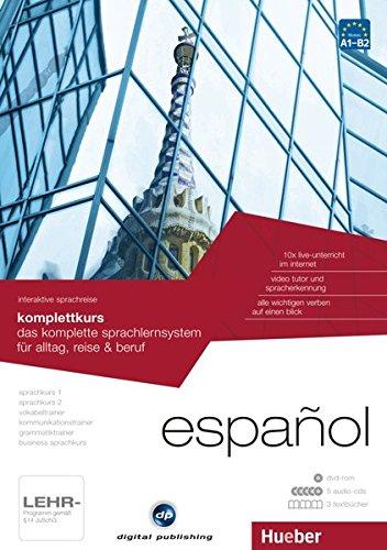 interaktive sprachreise komplettkurs español: das komplette sprachlernsystem für alltag, reise & beruf / Paket: 1 DVD-ROM + 5 Audio-CDs + 3 Textbücher (Interaktive Sprachreise digital publishing)