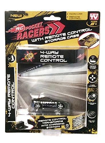 RC Pocket Racers Micro Car AS SEEN ON TV Phantom Black