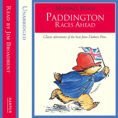 Paddington – Paddington Races Ahead audiobook cover art