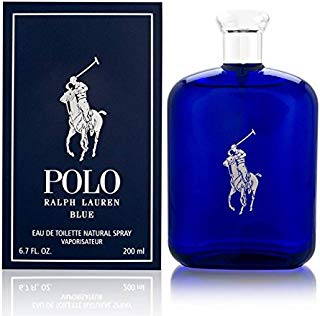 Polo Blue by Ralph Lauren for Men 6.7 oz Eau de Toilette Spray