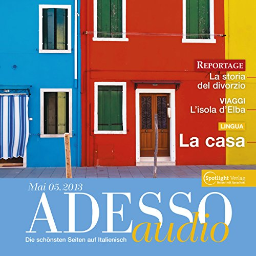 ADESSO audio - La casa. 5/2013 cover art
