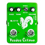JOYO JF-12 Voodoo Octave Effect FUZZ Effect Pedal for Electric Guitar Pedal Fuzz