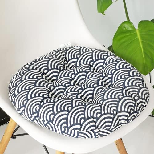 JDHANNE Cojín grueso de lino de algodón para sala de estar, sofá, cojín adecuado para dormitorio, oficina, silla de escuela de 45 x 45 cm