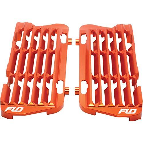 FLO Motorsports High Flow Radiator Braces (Orange) for 16-20 KTM 250SX