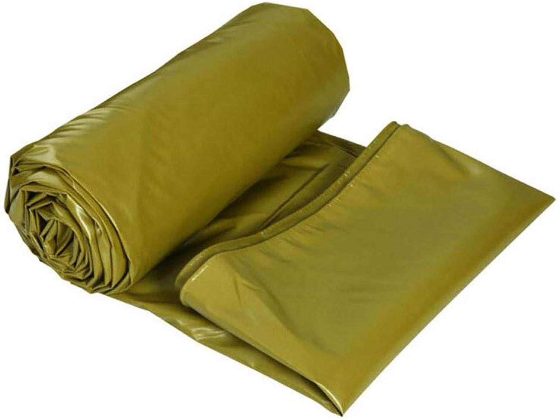 Tarpaulin Padded Waterproof Tarpaulin Outdoor Sunshade Tarpaulin Sunscreen Cloth Tarpaulin Tarpaulin Canvas 0.5MM 520g m2 (color   A, Size   8  6m)