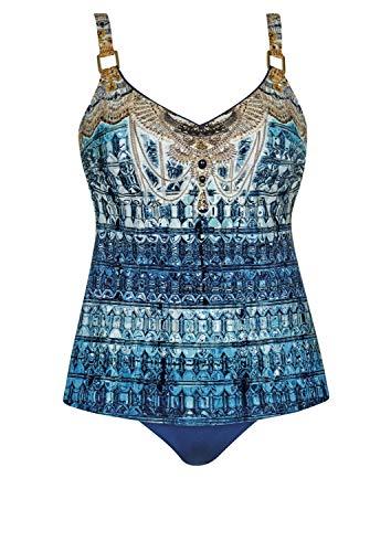 OPERA Tankini Beach Palace Cup E, Farbe blau, Größe 42