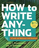 Loose-leaf Version for How to Write Anything with Readings