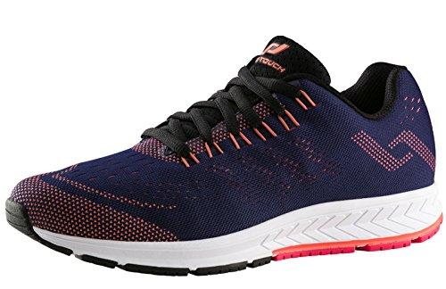 Pro Touch Damen Run-Schuh OZ 2.0 W, Navy/ROT/PINK, 41 Laufschuhe Blau 000, EU