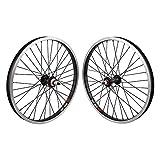 Sun Rhyno Lite 20' BMX Bicycle Bike Wheelset BlackOps Single Speed Black 36h