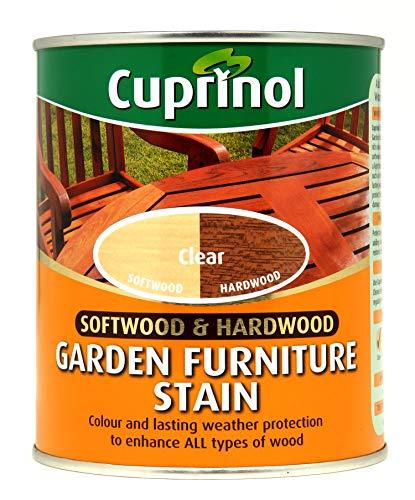 CUPRNOL 5158527 Garden Furniture Stain Exterior Woodcare, Clear