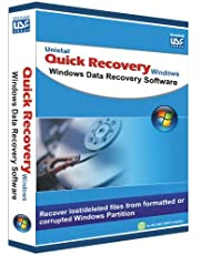 Quick Recovery - Data Recovery Software - For Windows (Personal) 1Yr/1PC