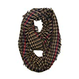 Winter Plaid Warm Scarf,Women Long Wrap Scarf,For Casual,Travel,Ladies,Girls