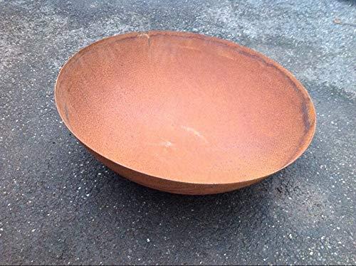 Zen Man Edelrost Garten Feuerschale Rost Pflanzschale aus Metall Rost 60cm 1.8m