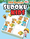 4x4 Sudoku for Kids Ages 4-8 & Kids Sudoku 6x6 | Very Easy Sudoku for Beginners: All Easy Sudoku Puzzle Books for Kids | First Sudoku for Kids (Super Easy Sudoku Book for Smart Kids)
