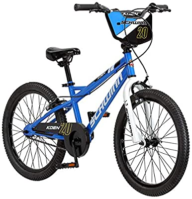 Schwinn Koen Boys Bike for Toddlers and Kids, 20-Inch Wheels, Blue