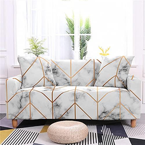 MMHJS Elastic Sofa Cover European-Style Sofa Cover Full Cover Fabric Sofa Cover Four Seasons Applicable Full Cover Sofa Cover