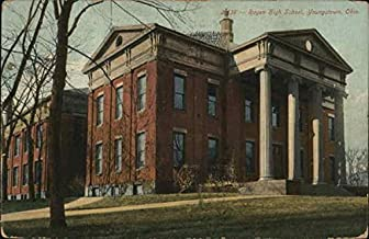 Rayen High School Youngstown, Ohio Original Vintage Postcard