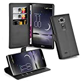 Cadorabo Coque pour LG G Flex 2 en - Housse Protection avec Fermoire Magnétique et 3 Fentes Cartes...