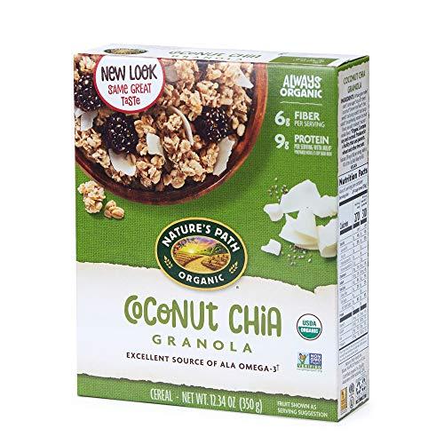 Nature's Path Organic Granola Coconut Chia Cereal Now $2.24