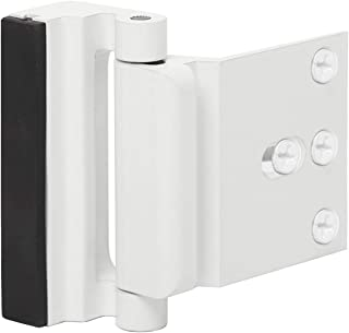 Door Reinforcement Lock Child Safety Door Security Lock with 4 Screws for Inward Swinging Door-Add Extra,High Security to Your Home|Prevent Unauthorized Entry-3
