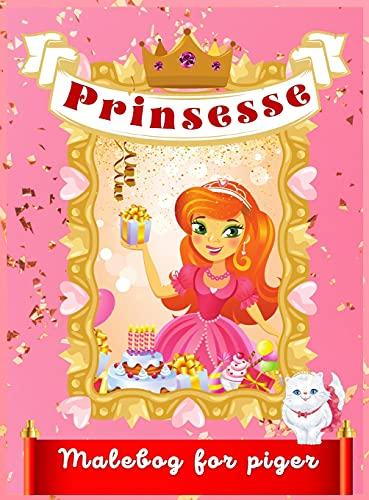 Prinsessen malebog for piger: Smukke prinsesseillustrationer til farvelægning for piger i alderen 4-9 år   Denne bog vil frigøre din datters bedste ... designs til piger   Ideel gave til børn