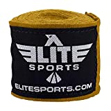 Elite Sports New Item Professional Boxing, Kickboxing, Muay Thai, and Mma Hand Wraps, 180'' L