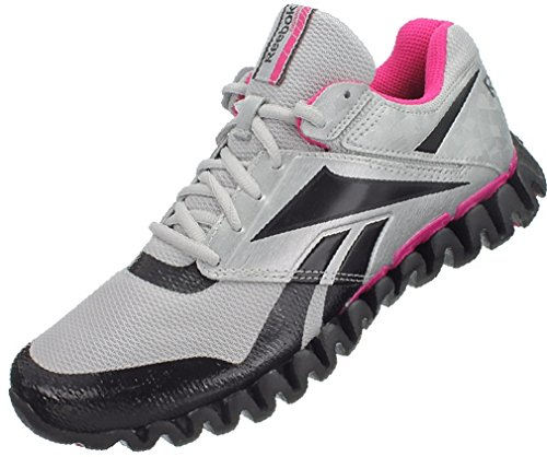 Reebok Zignano Storm W J84549 Walking Jogging Laufschuhe Damen Grau Pink