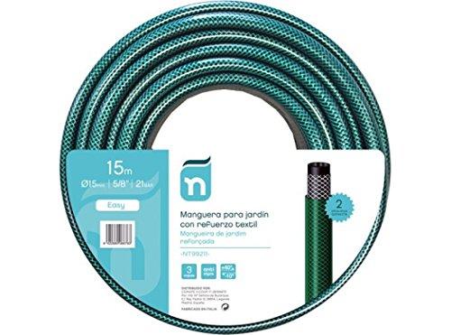 Fitt S.P.A. Nt99211 - Manguera riego 15mt-15mm 3c natuur ver