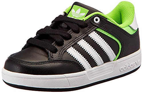 adidas Jungen Varial J Skaterschuhe, Black (Schwarz (Negbas/Ftwbla/Versol), 38 EU