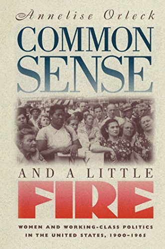 Common Sense and a Little Fire: Women and Working-Class Politics in the United States, 1900-1965 (Gender and American Cu