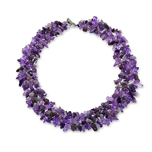 Best statement necklace purple for 2020