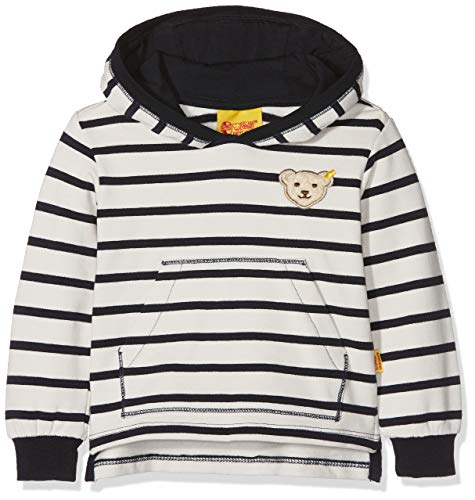 Steiff Steiff Baby-Jungen 1/1 Arm Sweatshirt, Blau (y/d Stripe|Multicolored 0001), 62