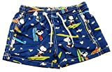 MC2 Saint Barth Costume Boxer BLU Stampa Snoopy 6 Anni