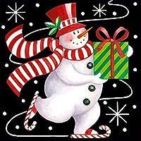 5Dダイヤモンドペインティングクリスマス漫画家の装飾ラインストーン画像40x40cm