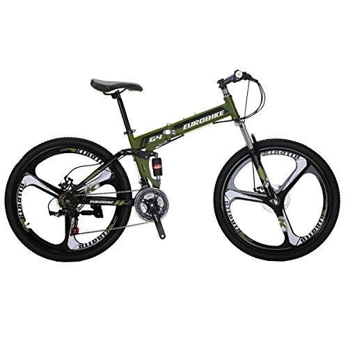 SL G4 Mountain Bicycle suspension bike 26 inch mountain bike 3-Spoke bike green bike mountain bike mountain bike 26 inch