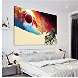 YKing1 Smoking Canvas Set Canvas Set Poster Canvas Print Modern Wall Art Pictures Home Decor 60x90cm unframed