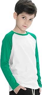 Big Boys' Raglan Baseball Jersey T-Shirts (3-13Years)