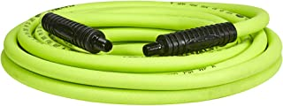Flexzilla Air Hose, 3/8 in. x 25 ft, 1/4 in. MNPT Fittings, Heavy Duty, Lightweight,..