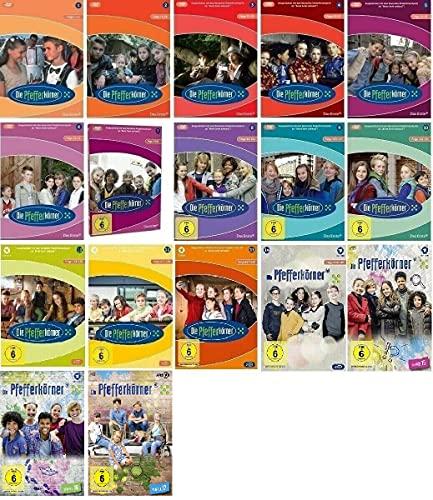 Die Pfefferkörner Staffel 1-17 (1+2+3+4+5+6+7+8+9+10+11+12+13+14+15+16+17, 1 bis 17) Folge 1-221 [DVD Set]