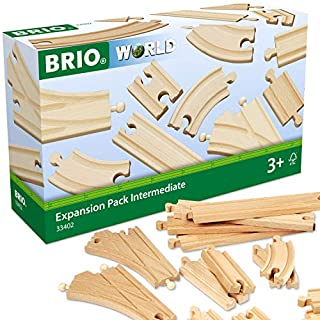 BRIO World Railway Track Expansion Pack - Intermediate (B0001WGIBW) | Amazon price tracker / tracking, Amazon price history charts, Amazon price watches, Amazon price drop alerts