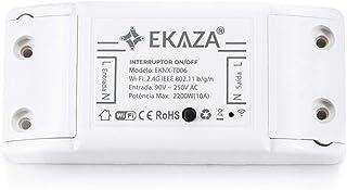 Módulo Interno para Interruptor Inteligente Sem Fio, EKAZA, Compatível com Alexa