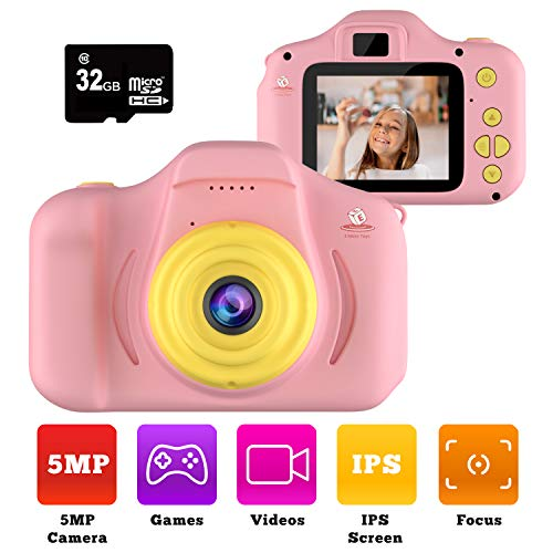 Purchase Kiditos Kids Digital Camera - HD Mini Camera Toy Recorder for 3-11 Years Old Kids - Shockpr...