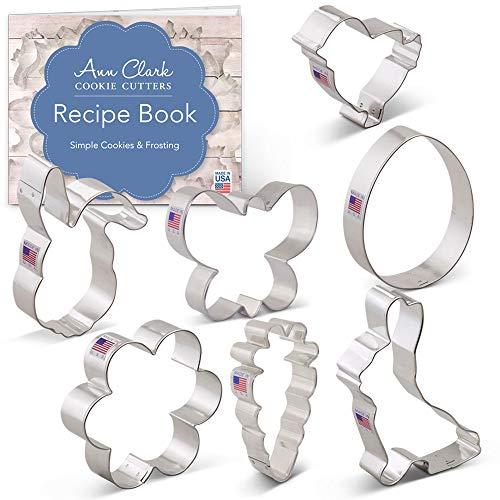 Ann Clark Cookie Cutters Juego de 7 cortadores de galletas Semana Santa...