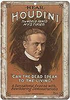 Hodini世界有名な神秘的なポスターポスターレトロ金属サイン