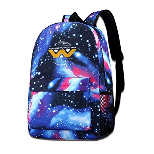 Lawenp Weyland-Yutani Star Backpack Girls Boys School Backpack Lightweight Backpack Laptop Travel Backpack