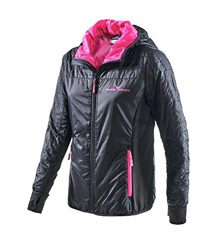 Black Crevice Damen Outdoor Jacket, anthrazit, 38